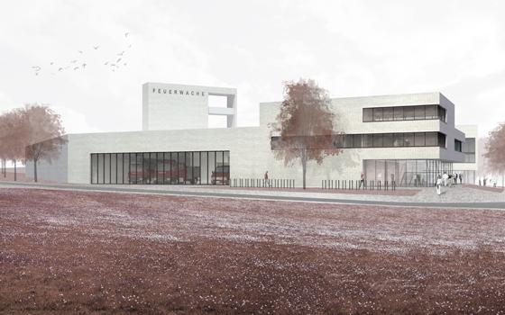 Architekt Marburg feuerwache, marburg - pussert und kosch architekten